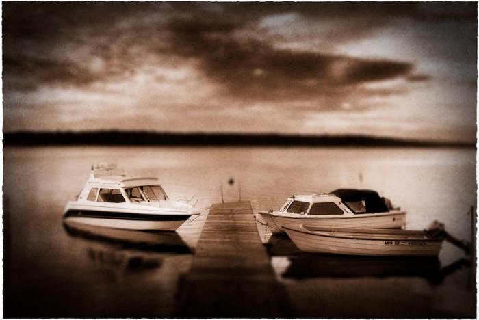 Båtar i Bälinge Fotograf Lars-Göran Norlin