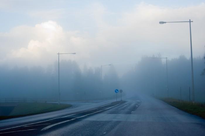 Mariehemsvägen, Umeå. Fotograf Lars-Göran Norlin