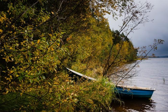 Båt i Alviksträsk