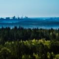 Utsikt från Bälingeberget, 21 maj 2014.